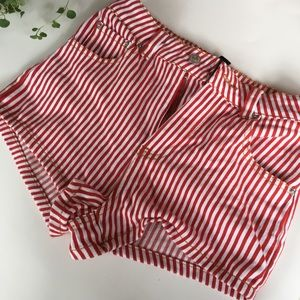 Pants - Forever 21 stripped shorts